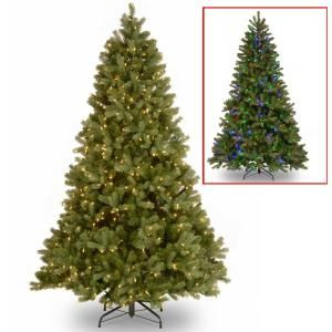 National Tree Company 7 5 Ft Downswept Douglas Fir Artificial Christmas Tree With Dual Color Led Lights Pedd1 D12 75 The Home Depot Pre Lit Christmas Tree Best Artificial Christmas Trees Douglas Fir Christmas Christmas tree with dual lights white and multicolored