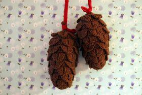 YARNFREAK: DIY: Pinecones. Need translation