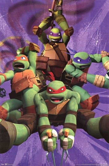 Teenage Mutant Ninja Turtles - Team