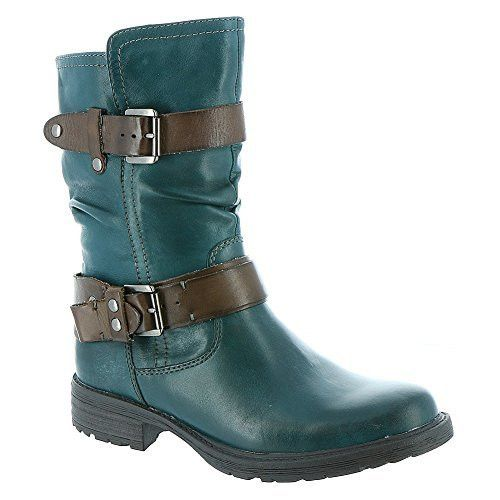 Earth Women's Everwood Ankle Boots Legion Blue Size 9.5M YS05NDP