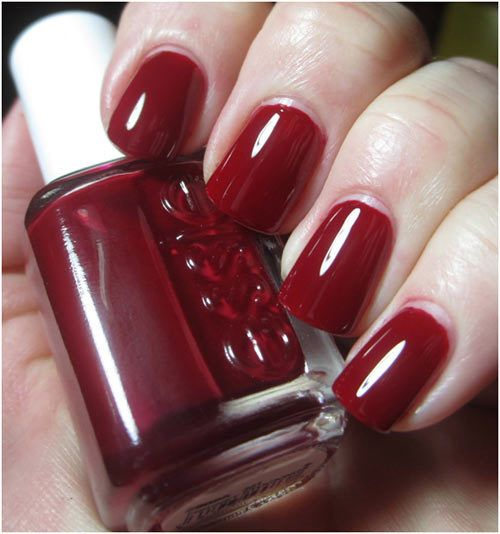 17 Best Ideas About Red Nail Polish On Pinterest
