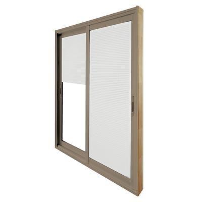 Stanley doors double sliding patio door internal mini for 5 ft sliding glass door