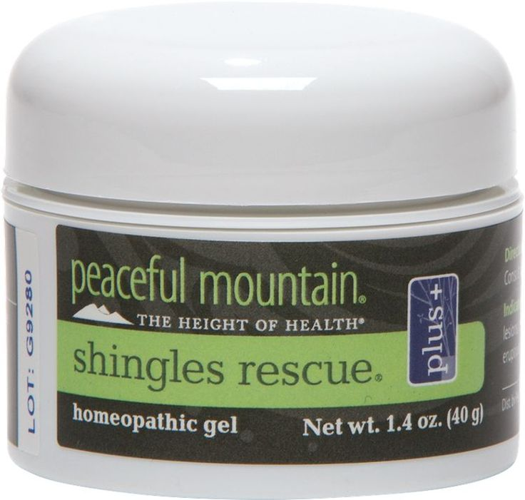 This herbal gel eases the painful and often agonizing symptoms and discomfort associated with shingles. It contains homeopathic components specifically chosen to provide healing support and soothe post-herpetic neuralgia, a stage where the sores have healed but the pain continues.