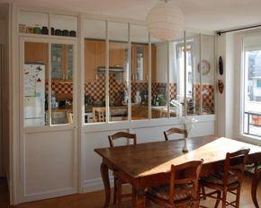 Nouveau, nous vous proposons des verrières à poser... La Manufacture Nouvelle réinvente la verrière d'intérieur en bois... Les cloisons vitrées en bois prolongent l'architecture existante...