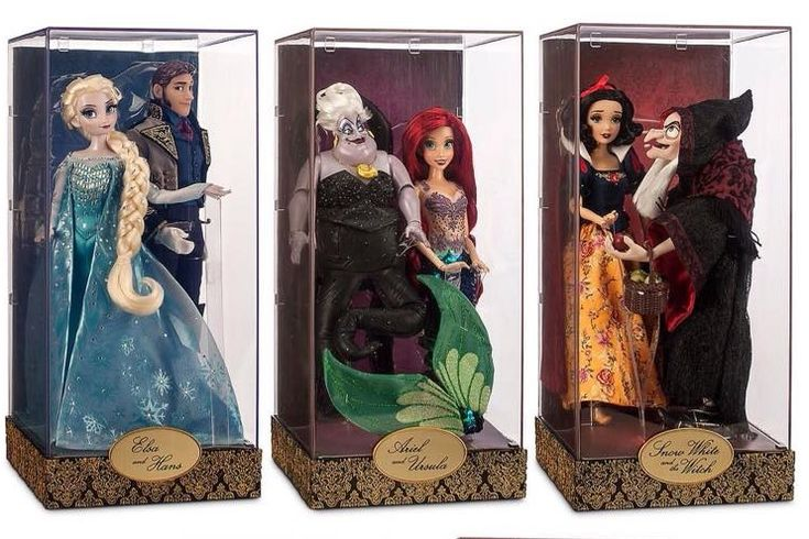 Disney Fairytale Designer Collection Doll sets to debut at the D23 Expo