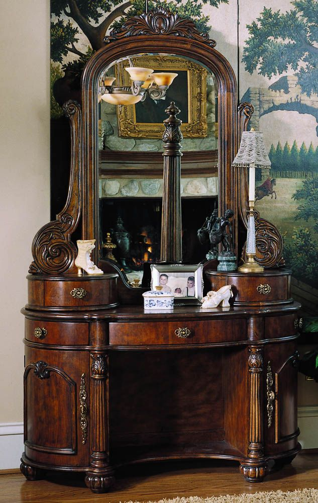 Edwardian Vanity With Mirror By Ski Furniture Pinterest Bedroom And