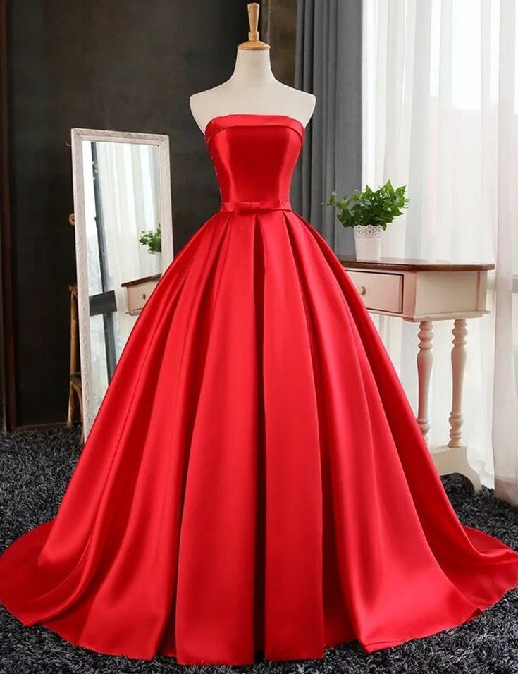Get 20 vintage red dress ideas on pinterest without for Wedding dresses 2017 red
