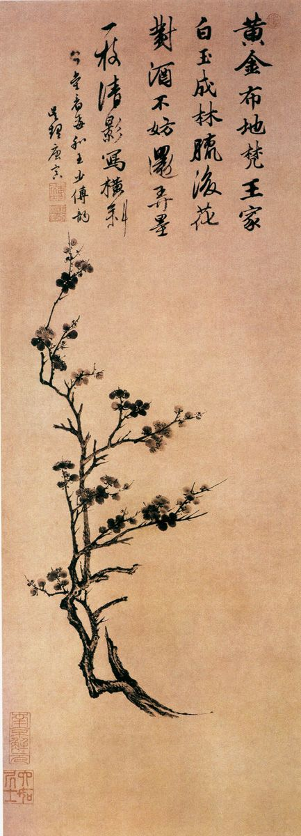 Tang Yin - Plum Blossom