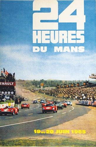 1965 24 Heures du Mans by Delourmel