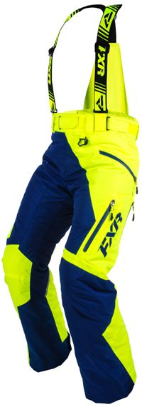FXR Women's VERTICAL PRO PANT (2015). http://www.upnorthsports.com/snowmobile/snowmobile-clothing/snowmobile-bibs-pants/womens-bibs-pants/fxr-womens-vertical-pro-pant-2015.html
