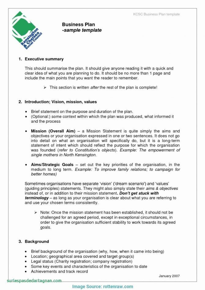 Home Based Bakery Business Plan Sample Business Plan Template
