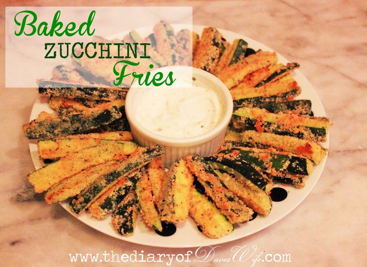 the Diary of DavesWife: Baked Zucchini Fries: Zucchini Fried, Baking Zucchini, Eatitup Sides Veggies, Dinners, Diaries, Eating Zucchini, Zucchini Fries, Fried Recipe, Daveswif