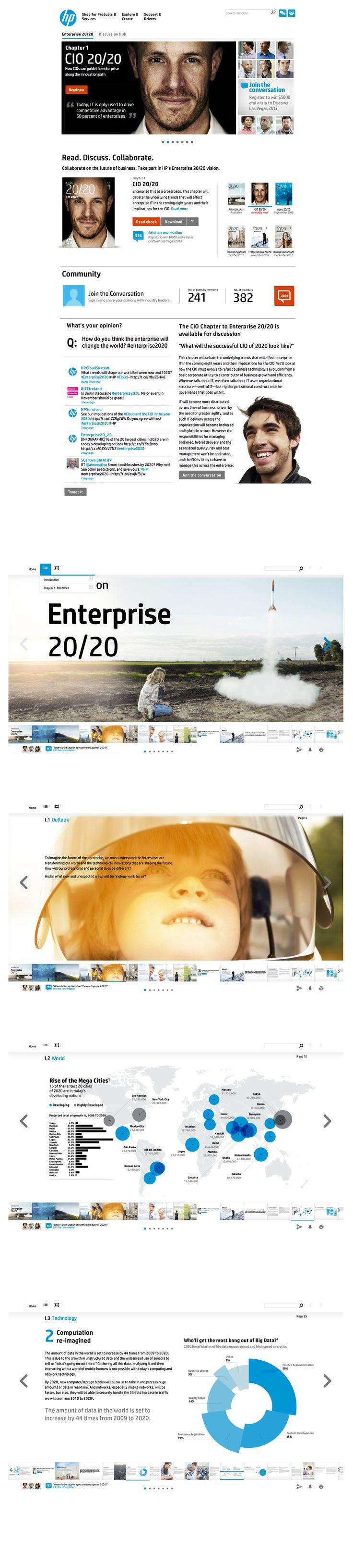 HP 20/20 - Collaborative eBook to define the vision of Enterprise.