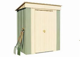 Designed to house pool pumps and equipment, the Oldfields Mini Shed can also be used for fire wood storage and general backyard storage.