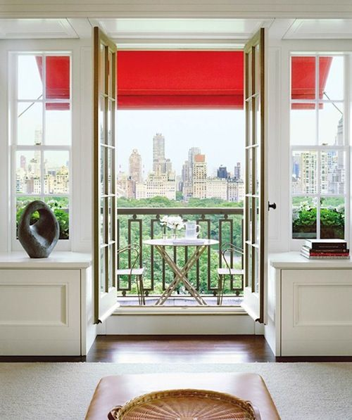: Window, French Doors, The View, Central Parks, Apartment, The Cities, New York, Outdoor Spaces, Cities View