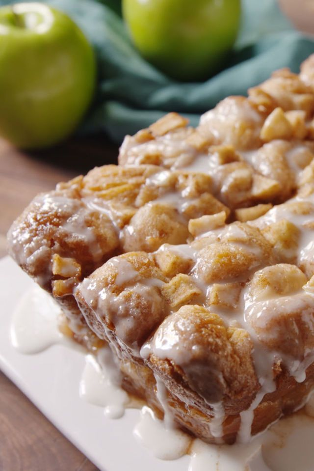 Apple Fritter Monkey Bread  - Delish.com