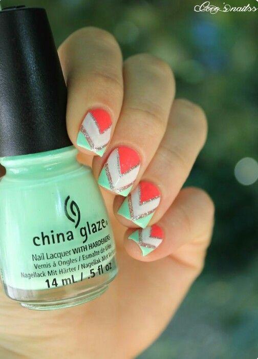 Mejores 19 imágenes de Nail Designs en Pinterest | Uñas bonitas ...