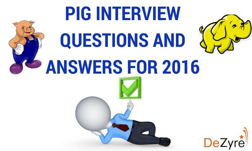 Most common hadoop Pig Interview Questions and Answers