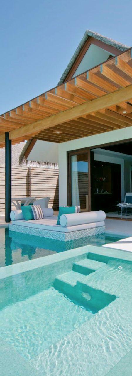 Pool in Maldives