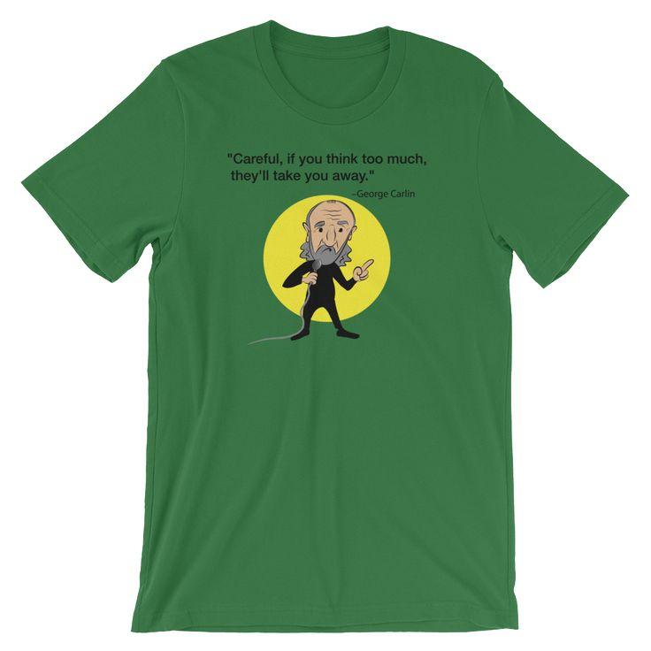 George Carlin T-s... now at BeefyTeez.com  http://beefyteez.com/products/george-carlin-caricature?utm_campaign=social_autopilot&utm_source=pin&utm_medium=pin