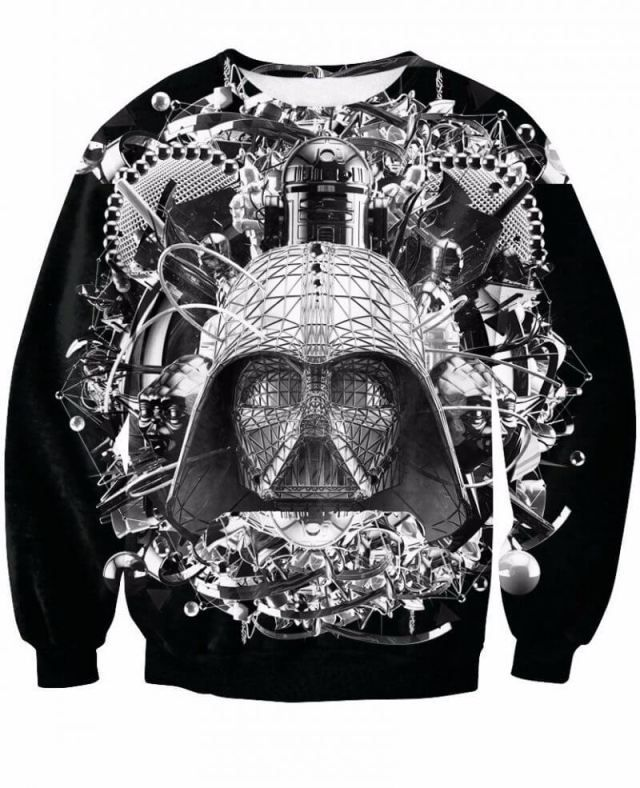 Star Wars Sweatshirt 3D Darth Vader Star Wars merchandise http://funstarwars.com/shop/star-wars-hoodies/star-wars-sweatshirt-3d-darth-vader/ 34.55 Material:Acrylic,Cotton