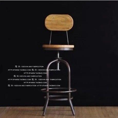 amerikaanse land ijzer stoelen barkrukken ikea bureaustoel lift barkruk barkruk spot in van op Aliexpress.com