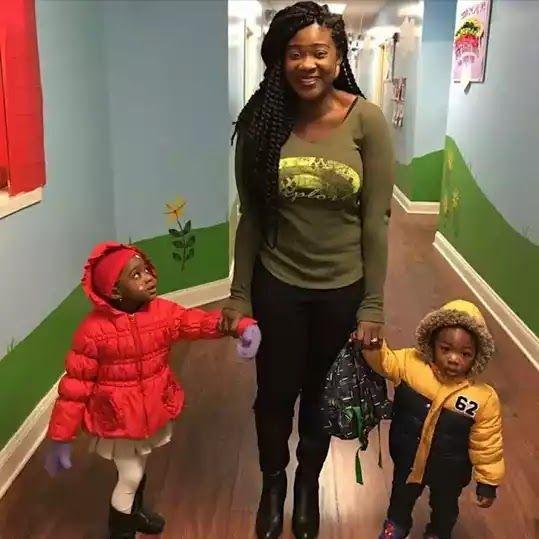 Welcome to Yahya Mubarak's blog: Mercy Johnson Okojie takes her adorable kids on sc...