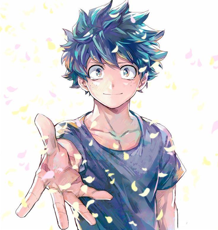 Boku no Hero Academia || Midoriya Izuku. Querido eu pego  sua mão com o maior prazer!❤