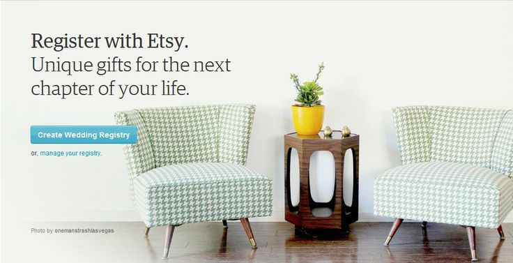 how to add items to etsy wedding registry