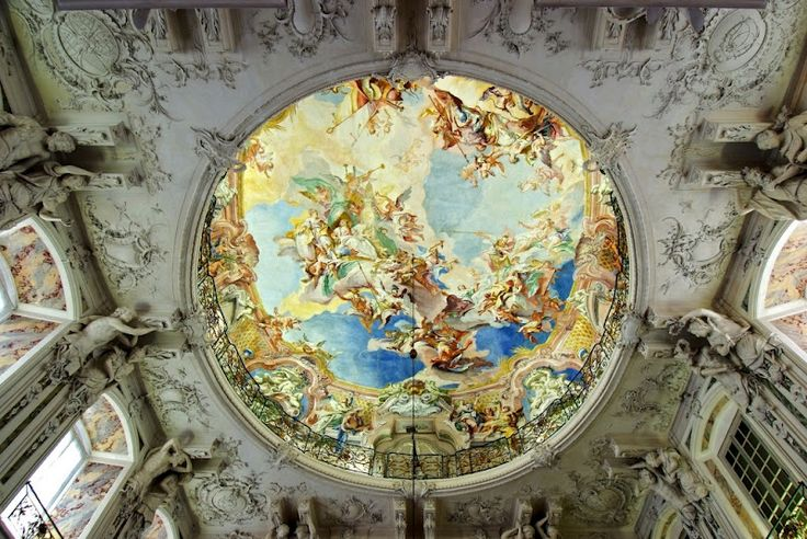 16 best images about augustusburg palace interieur for Interieur baroque