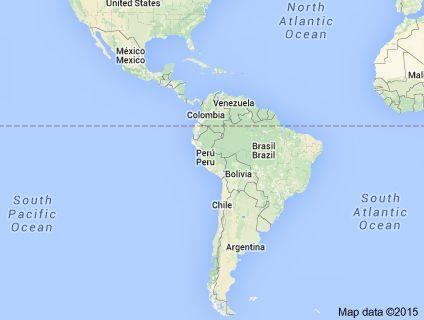 Map of latinamerica ♥