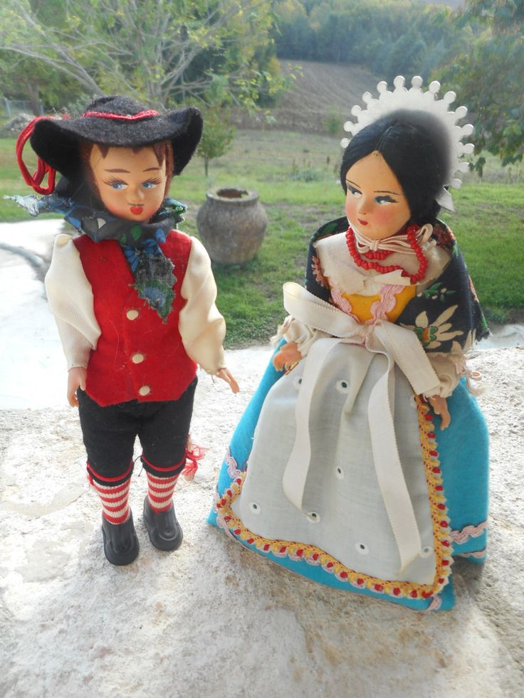 RENZO E LUCIA – Promessi Sposi - Souvenir Italia - Italian Souvenir Doll di sbaracco su Etsy