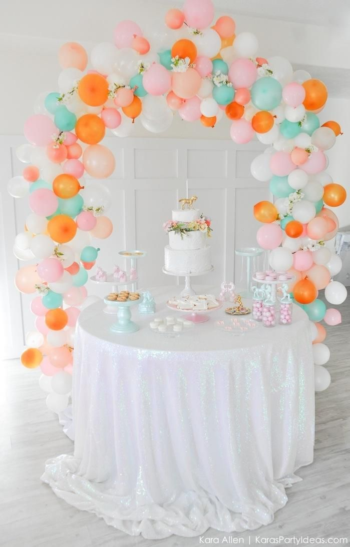 Unicorn themed birthday party by Kara's Party Ideas | Kara Allen | KarasPartyIdeas.com-75