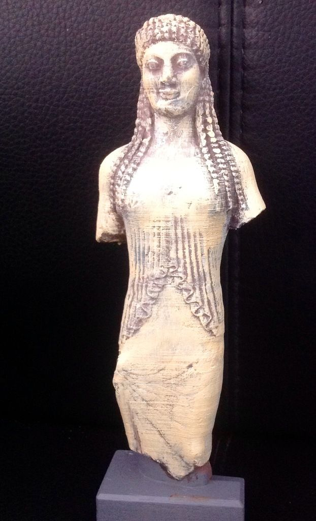 Acropolis Kore 678 3D print. More --> pinterest.com/cosmowenman/others-3d-prints-of-cosmo-wenmans-3d-scans/