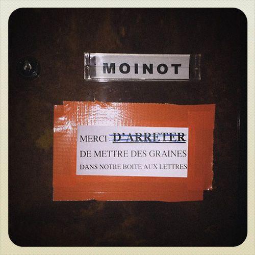 Best Of Mot des Voisins : Mr Moinot http://www.15heures.com/photos/ez54?utm_source=SNAP #LOL