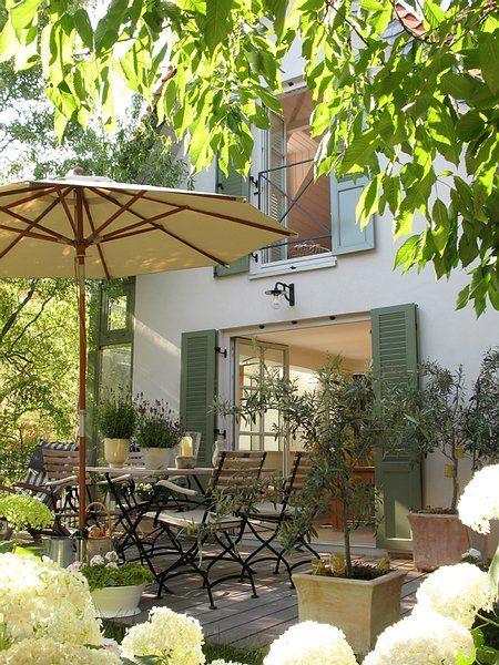 Toller Garten, Terrasse