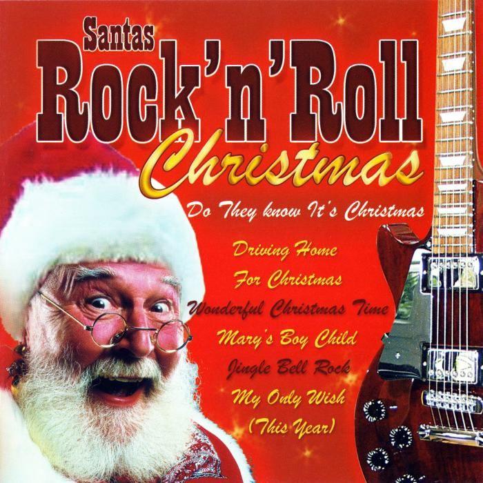Santas Rock N Roll Christmas Christmas CDs