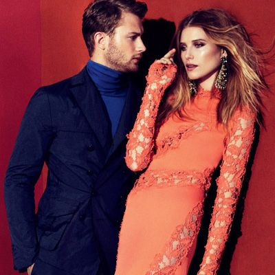 Dree Hemingway & Sebastian Lund for the Ermanno Scervino spring/summer 2013 ad campaign.