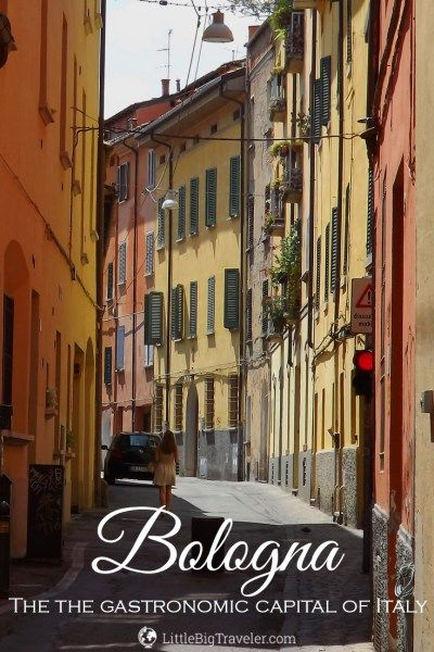 Bologna is the capital of the Emilia-Romagna Region and it's known as the gastronomic capital of Italy. Here's a list of what to do, try and see in Bologna.