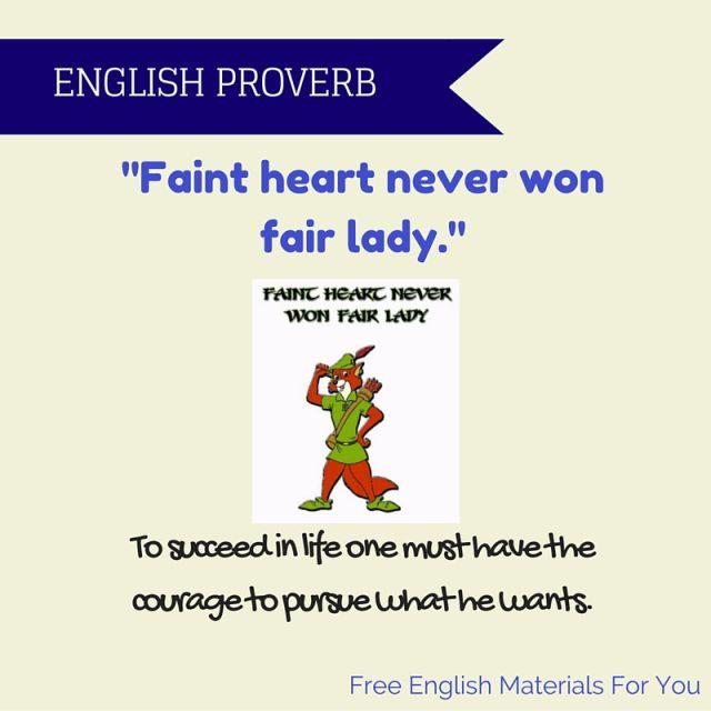 English Proverb www.freeenglishmaterialsforyou.com #FreeEnglishMaterialsForYou
