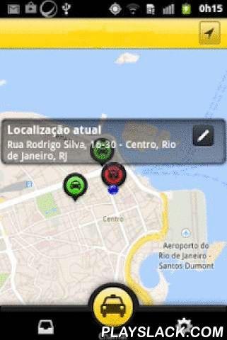 Taxi Londrina  Android App - playslack.com ,  Este aplicativo foi desenhado para quem busca um serviço de táxi presente no próprio bairro e que garanta que você e sua família serão atendidos por um taxista conhecido com segurança.Aqui você tem linha direta para solucionar seus problemas, basta nos ligar! Nosso aplicativo permite que você chame um de nossos táxis e acompanhe o deslocamento do carro no mapa, sendo avisado quando ele estiver na sua porta. Você ainda consegue ver todos os táxis…