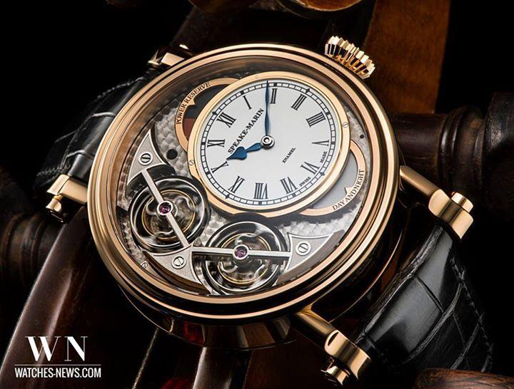 www.watches-news.com SPEAKE-MARIN Magister Vertical Double Tourbillon #Watch