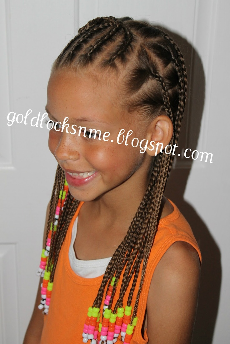 Nice Braided Style For The Summer Cute Hairstyles