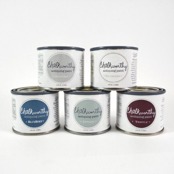 The Lil Sampler kit is the perfect way to try out multiple @ChalkWorthy  Paint Colors - 136 Best Chalkworthy™ Antiquing Paint Images On Pinterest And