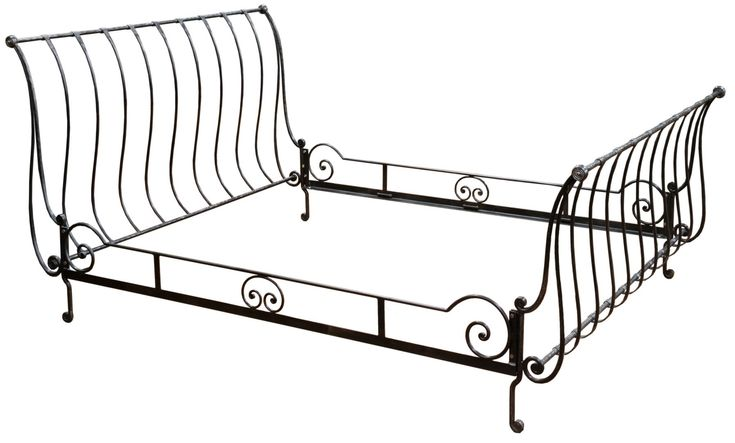 Beds Awesome Wrought Iron Sleigh Bed Wrought Iron Sleigh: Best 25+ Sleigh Bed Frame Ideas On Pinterest