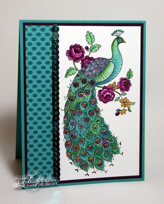 6/10/15.  LW Designs: Bohemian Peacock