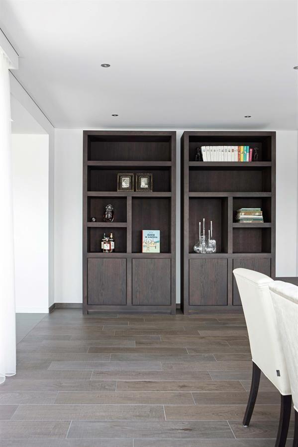 25 beste idee n over ingebouwde boekenkasten op pinterest - Eigentijdse badkamer fotos ...