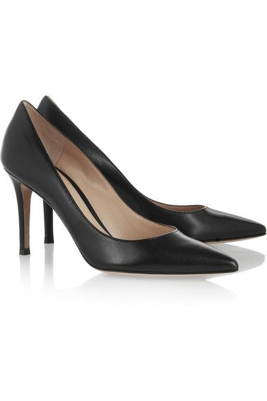 Low Price Online Get To Buy For Sale 85 Leather Pumps - Black Gianvito Rossi Buy Cheap Inexpensive Newest For Sale fuuhXIVltY