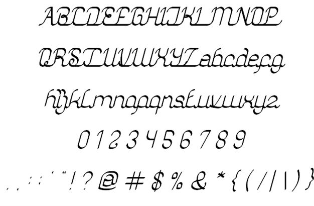 Image for authentic love font