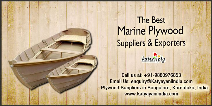 #Marine_Plywood_Suppliers will be #plywood made with waterproof paste and ensured to not have any voids in it. It's utilized as a part of boat building or in applications where it will be in contact with water proof  #Manufacturers in #Karnataka,  #Bangalore,  #India.